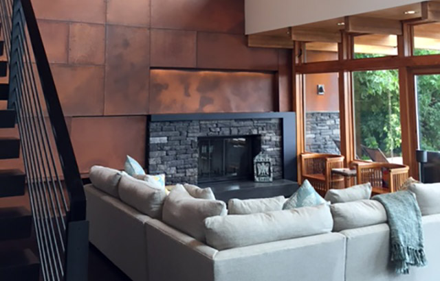 Bainbridge Island Retreat, Interior, Living Room