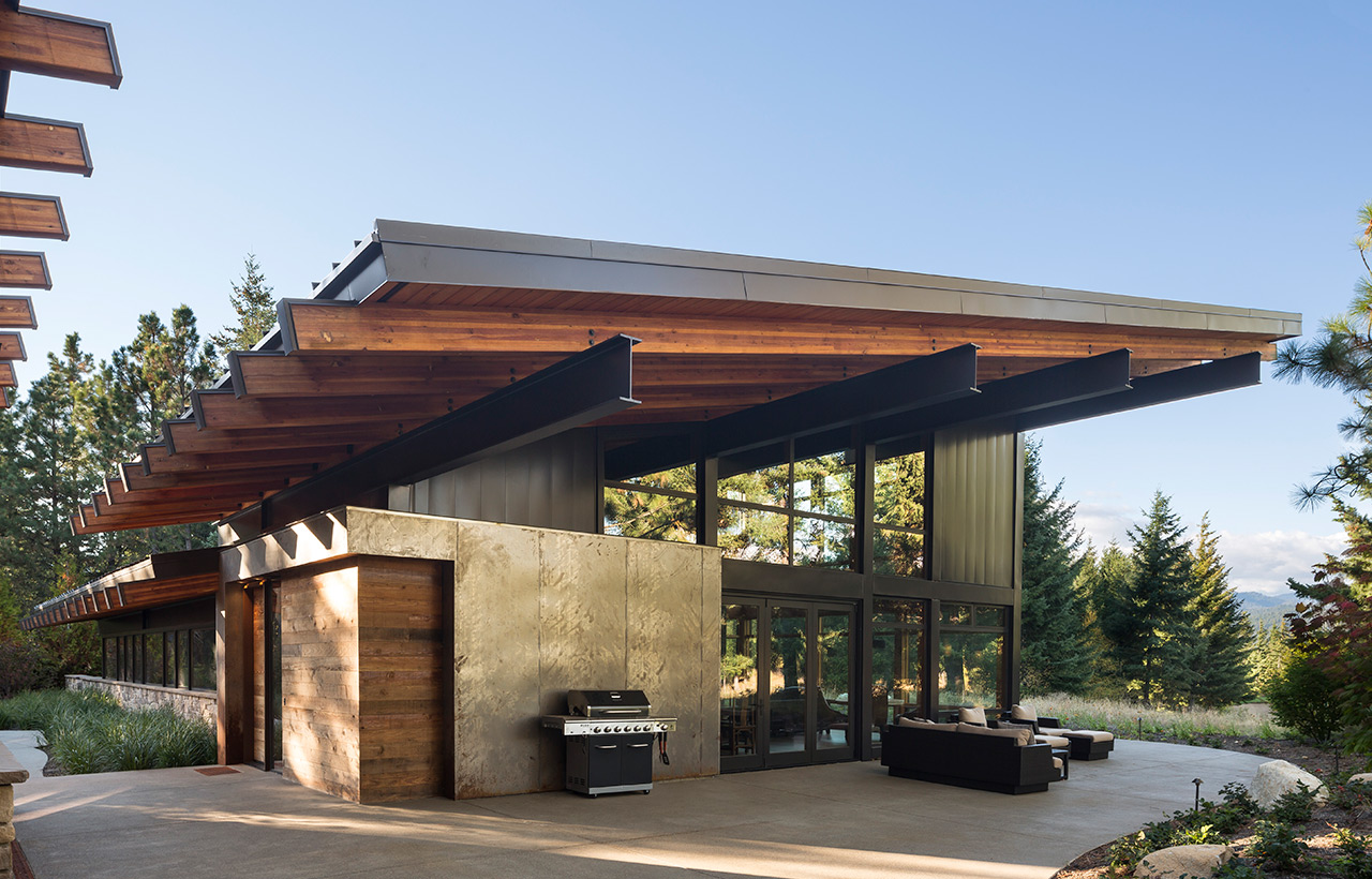 Tumble Creek Residences, Exterior, Other Side View Patio View
