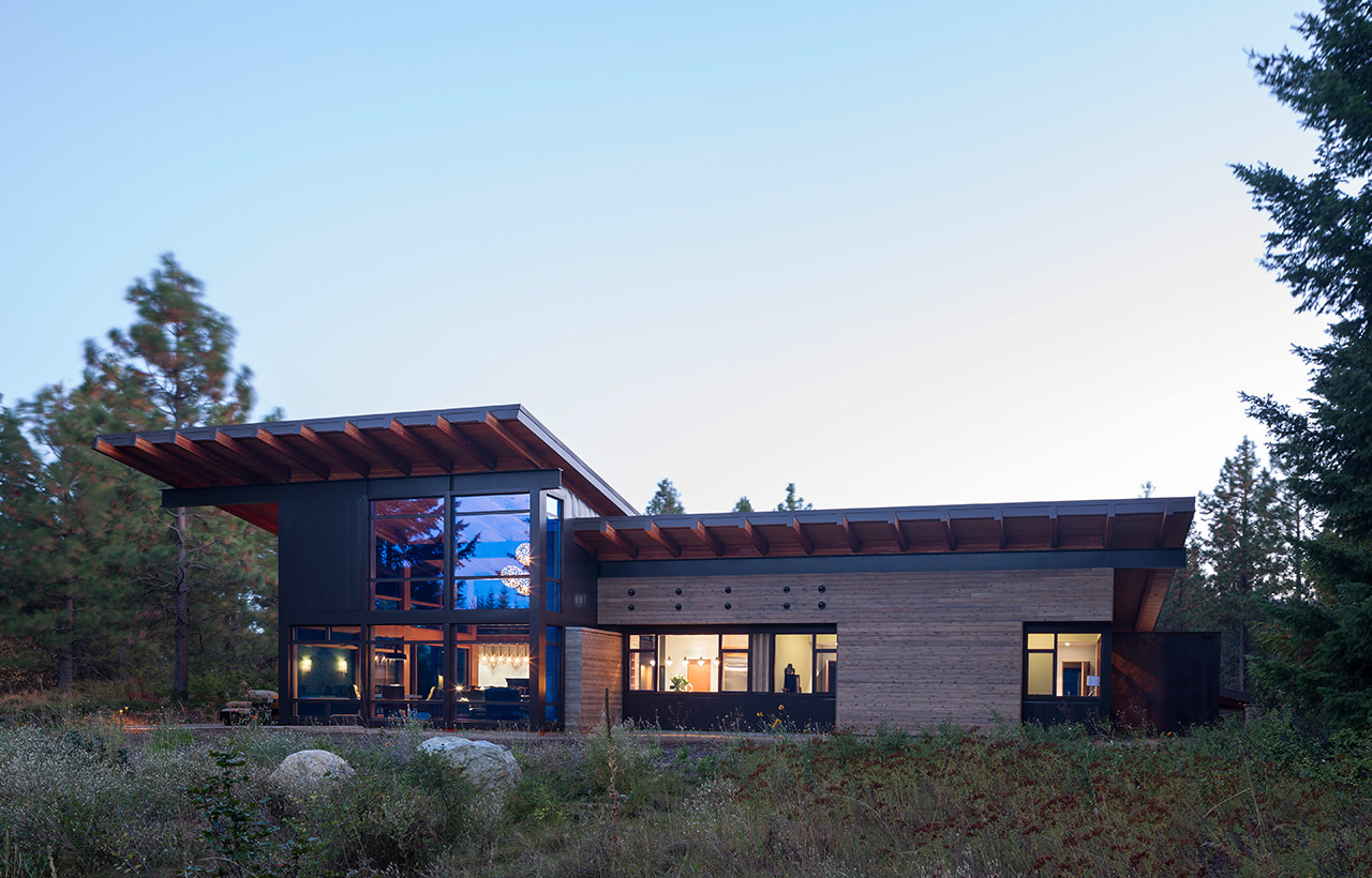 Tumble Creek Residences, Exterior, Full Back Side Angled View