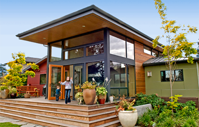 Sand Point Residence, Remodel, Exterior
