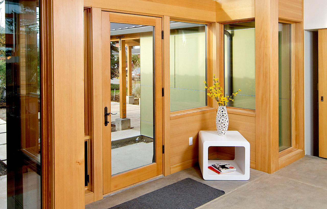 Sand Point Residence, Remodel, Interior, Entry