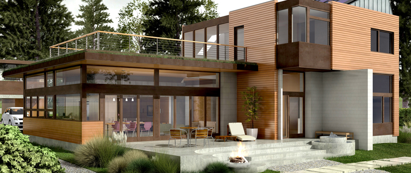 LEED Platinum certified home by Bainbridge Island Architects, Coates Design