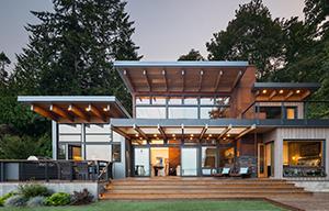 Coates Design Architects, Island Retreat
