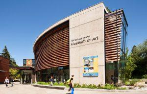 Bainbridge Island Museum of Art front entrance