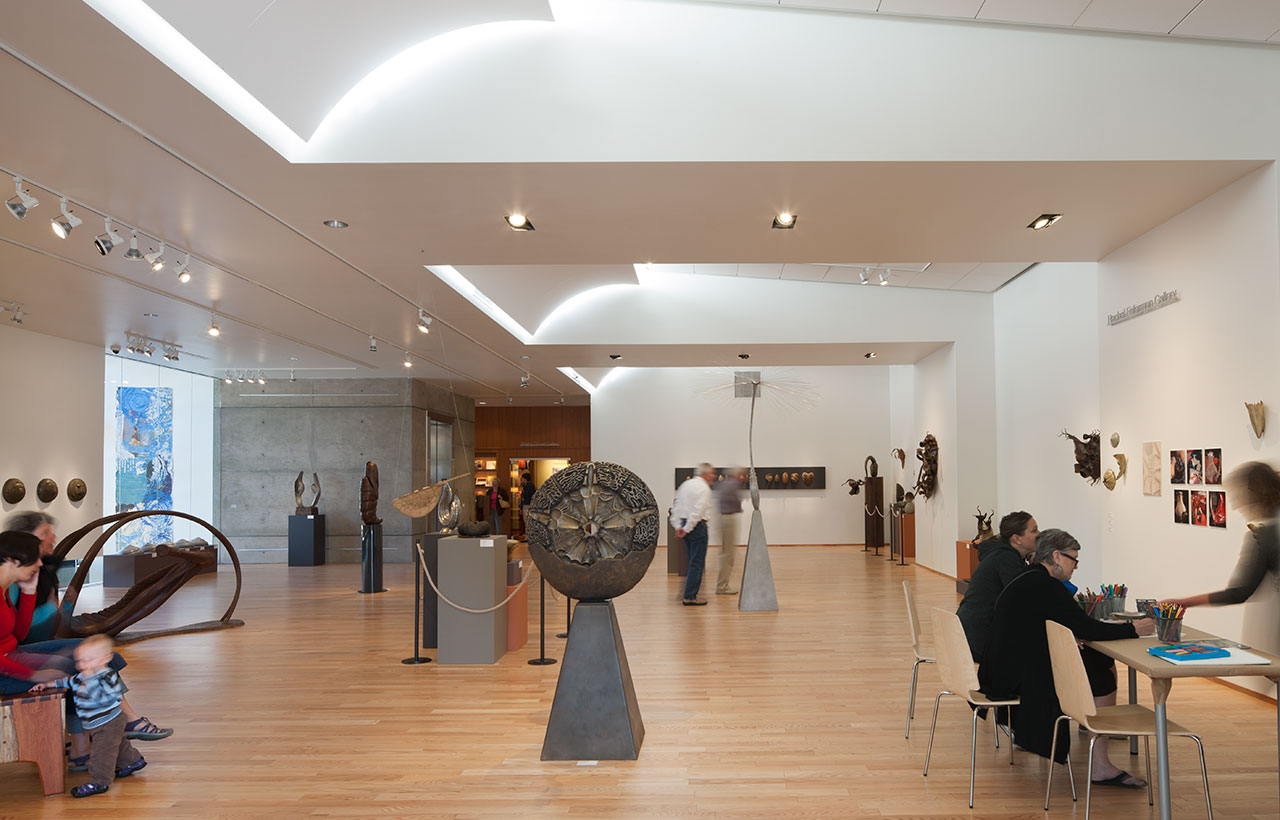 Bainbridge Island Museum of Art, Second Floor, Gallery Space