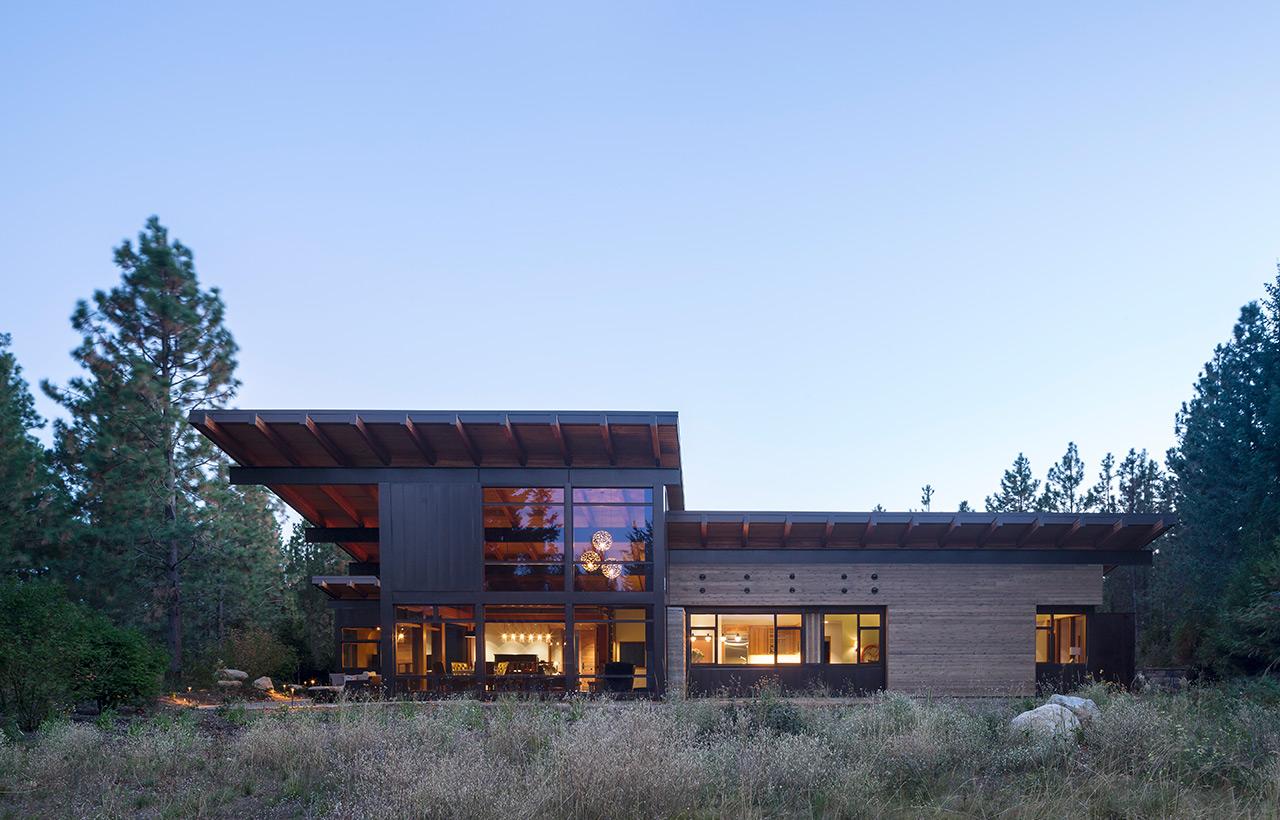 Tumble Creek Residences, Exterior, Full Back Side View